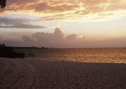 夏休みビーチ旅② 2002 沖縄 恩納ビーチ