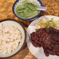 初東北、牛タンを食べに仙台に