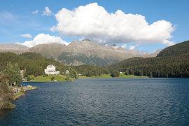 スイス2日目⑤サンモリッツの中心部ドルフ地区散策