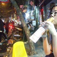 ゆみナーラの麺'sHANOI 1)バンコクから始まるハノイの夜