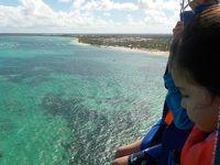 中米3ヵ国 5歳&10歳子連れ旅(2) ドミニカ共和国プンタカナのビーチ