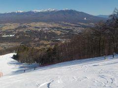 富士見パノラマスキー場でスキー PART2