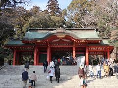 東国三社のうちの二社である香取神宮(千葉県)へお礼参り、鹿島神宮(茨城県)へ初めての参拝
