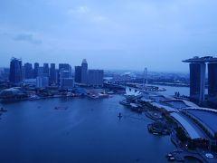 シンガポール:ベイエリア一望と旧正月前のチャイナタウン
