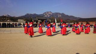 真冬のソウル〜最終日  景福宮の交代式ははずせない!