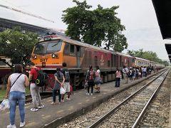 マレーシアからタイへ 2日目 バンコク行き46列車~アユタヤ
