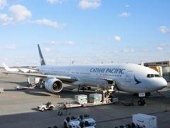 2019.1台湾①初キャセイビジネスCX451搭乗記 B-777はハズレだったの巻き。