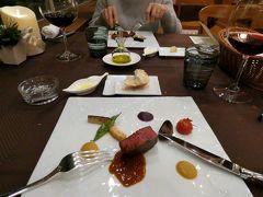 11.年越しのエクシブ山中湖3泊 イタリア料理 ルッチコーレの夕食