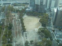 神戸三宮にある東遊園地