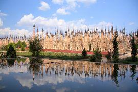 ミャンマー 黄金の三角形の旅 5 昼はカックー遺跡、そして夜はお祭り