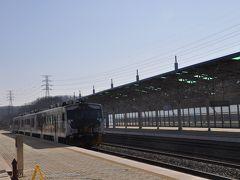 2019年1月韓国鉄道旅行3(DMZトレインに乗って都羅山駅へ)