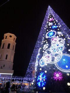 Day 1-2 冬のバルト三国旅行記(ビリニュスのクリスマスマーケット)