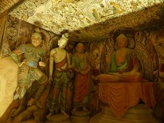 4歳娘を連れて念願の敦煌+北京6日間の旅6-敦煌最後の観光は、敦煌博物館へ