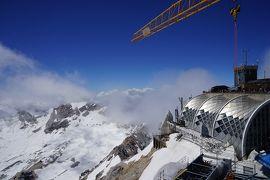 ヨーロッパアルプス山岳絶景 ドイツ最高峰ツークシュ・ピッツェ