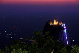 ミャンマー 黄金の三角形の旅 8 まだまだバゴンでパゴダ巡り、そしてポパ山へ
