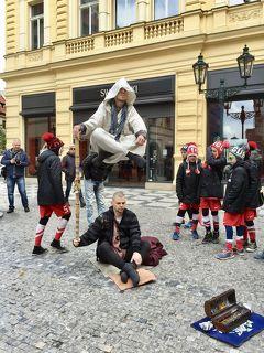プラハはヨーロッパのイメージ通りの街