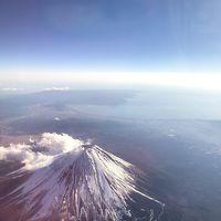 ☆2019年元旦初フライトJAL国内ファーストクラス!富士山を眺める!香川讃岐将八うどんホテル日航高知ロイヤル高知 四国復興割り3泊4日早周りの、旅
