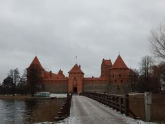 Day 2-2 冬のバルト三国旅行記(トゥラカイ城)
