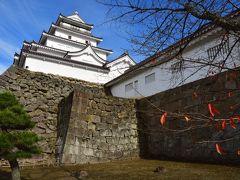 福島県:二本松城、若松城
