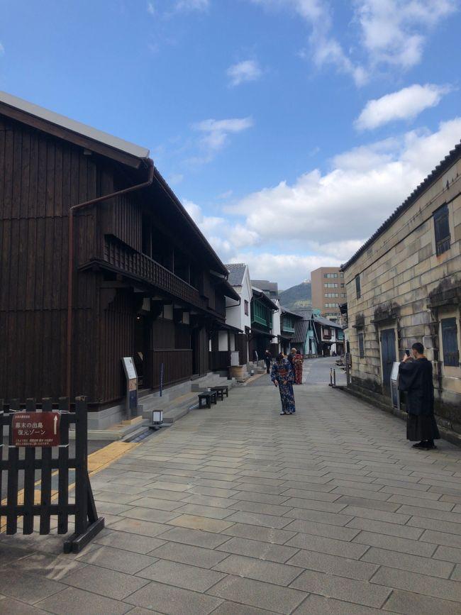 1月の下旬だと飛行機やホテルが安かったり、観光スポットが比較的空いていたりすると思うので、ひとりで旅に出てみました^ ^<br />長崎を選んだのは日本地図を眺めていた時に、「そういえば九州地方は未踏だった!長崎は文化財とかちゃんぽんとかいろいろあって面白そうだから行ってみよう~」と思い立ったからですw<br /><br /><br />~旅の大まかなスケジュール~<br />1日目 羽田空港~長崎空港へ移動<br />新地中華街周辺をぶらり<br /><br />2日目 ハウステンボス満喫<br /><br />3日目 ホテル近くの観光スポット(グラバー園、大浦天主堂)、眼鏡橋周辺、出島を散策