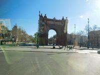 地中海クルーズ 9(バルセロナ市内)