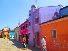 2017夏 Veneziaとその周辺 極彩色の島Burano