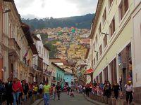 2017 夏 エクアドル、メキシコと台北(少々)旅� 世界遺産(第1号)の町歩き
