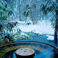 雪見温泉を目指して、、奥飛騨温泉郷 福地温泉『山里のいおり 草円』さんへ