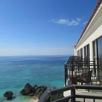沖縄・久米島2019冬(28)一転して春の陽気になったアリビラをチェックアウトして