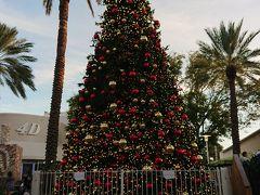 クリスマスシーズンのアメリカ 3日目 常夏のツリー