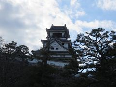 新年の四国(14)登れなかった高知城