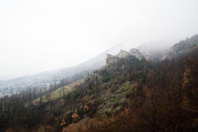 チンクエテッレとアオスタ~北イタリアの海と山の絶景巡り 【10】雨に煙る古城(2018/3/10)