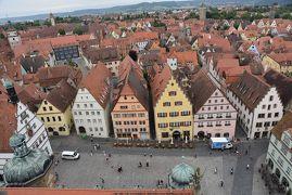 2016年 ドイツの旅(6)ロ-テンブルク 童話の世界のような美しい中世の街並み