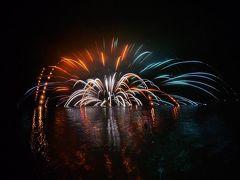 芦ノ湖冬景色花火~~箱根神社の節分祭を見に@芦ノ湖