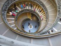 バチカン市国 美術館を堪能