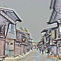 2019 日本一長い宿場町 奈良井宿のアイスキャンドルに行ってみた 《昼編》