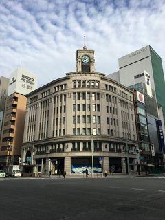東京美術展巡り・新参者ロケ地と銀座ぶらぶら(2)