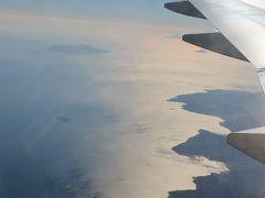 伊豆半島上空 JAL113便-33A 大阪/伊丹行 ☆沼津辺りの海岸・河川流域も見え