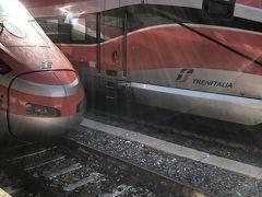 イタリア家族旅 4日目 ローマからミラノへ 列車の旅