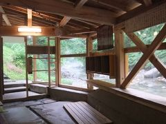 南会津町民の、宝の様な自慢の川沿いの隠れた共同浴場 木賊温泉岩風呂