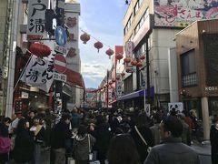 春節で大混雑の横浜中華街へ飲茶を求めて