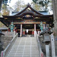 三十槌の氷柱とパワースポット三峯神社へ