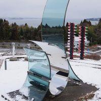 冬の能登半島一周(前編)能登島ガラス美術館と南砺のSL