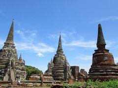 タイ バンコク 世界遺産アユタヤ遺跡