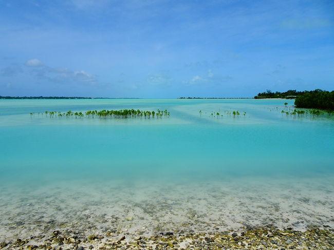 2月の3連休+1日でキリバスに行ってきました。<br />キリバスは太平洋上の多くの環礁からなる小さな島国。就航しているフライトが少ないためアクセスが難しいですが、何とか現地1泊2日で首都タラワを訪れることができました。<br /><br /><旅程><br />【1日目(2/9土)】<br /> 中部11:20→グアム15:55(UA136)<br /> グアム19:50→21:40チューク22:27→<br />【2日目(2/10日)】 <br /> →ポンペイ0:51(UA176)<br /> ポンペイ5:20→8:35マジュロ9:25→タラワ10:40(ON42)<br /> タラワ泊<br />【3日目(2/11月)】<br /> タラワ11:50→ナンディ14:55(FJ230)<br /> ナンディ泊<br />【4日目(2/12火)】<br /> ナンディ13:15→成田19:30(FJ351)<br /><br /><主な旅費><br />・航空券(UA):30,000マイル+3,980円<br />・航空券(ON):総額392.47AUD=32,839円<br />・航空券(FJ):総額72,840円