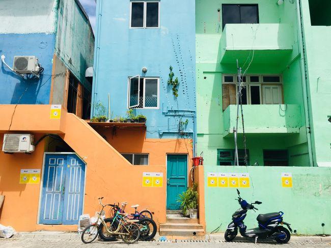 アラフォー女のおひとりさまリゾート in モルディブ【2】めっちゃカラフル!ローカル島ヴィリンギリ