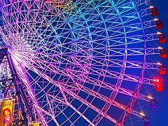 大阪24 築港・天保山ベイエリアイルミネーション ☆海遊館/観覧車の魅力を光で表現