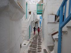 ギリシアへ弾丸家族旅行、ミコノス島街歩き(4日目)