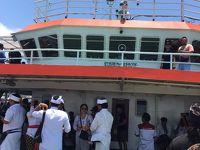 バリ島とジャワ島を結ぶ船