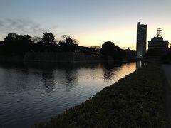 広島宿泊で早朝散歩